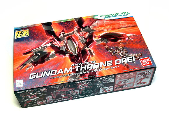 Bandai Hobby Gundam 00 Model 1/144 HG 14 Throne Drei GNW-003 Hobby 0152369 GH366