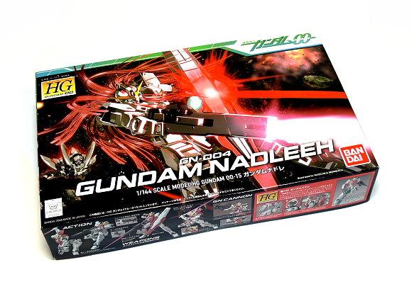 Bandai Hobby Gundam 00 Model 1/144 HG 15 Gundam Nadleeh GN-004 0153262 GH372