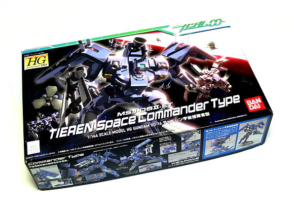 Bandai Hobby Gundam 00 Model 1/144 HG 16 Tieren Space Commander 0154483 GH378