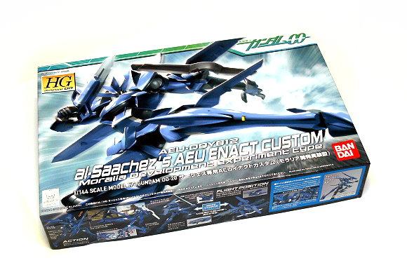 Bandai Hobby Gundam 00 Model 1/144 HG 20 AEU Enact AEU-09Y812 0156775 GH396