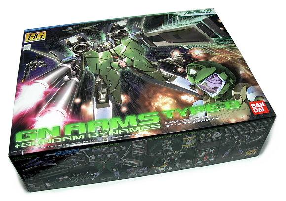 Bandai Hobby Gundam 00 Model 1/144 HG 21 Gnarms Type-D & Dynames 0155747 GH402