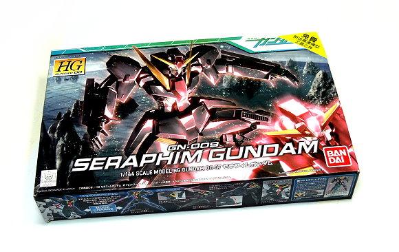 Bandai Hobby Gundam 00 Model 1/144 HG 37 Seraphim Gundam GN-009 0157733 GH468