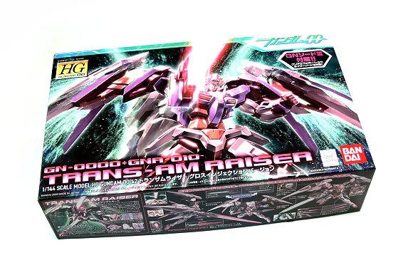 Bandai Hobby Gundam 00 Model 1/144 HG 42 TRANS-AM RAISER GN-0000 0158493 GH492