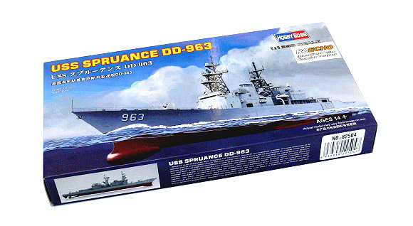 HOBBYBOSS Military Model 1/1250 War Ship USS Spruance DD-963 Hobby 82504 B2504