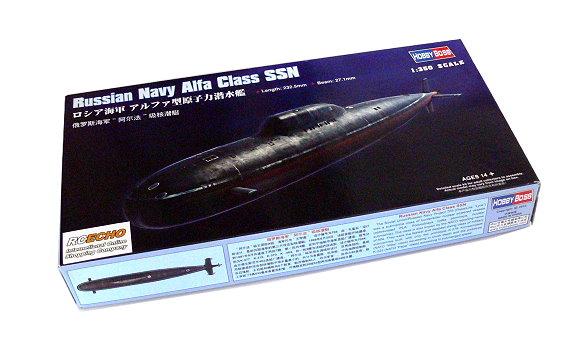 HOBBYBOSS Military Model 1/350 War Ship Russian Navy Alfa Class SSN 83528 B3528