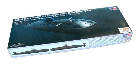 HOBBYBOSS Military Model 1/350 War Ship Soviet VictorIII 671RTMK SSN 83529 B3529