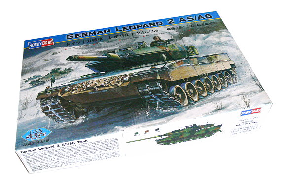 HOBBYBOSS Military Model 1/35 German Leopard 2 A5/A6 Scale Hobby 82402 B2402