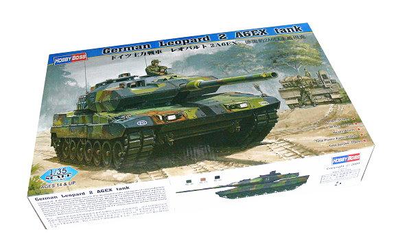 HOBBYBOSS Military Model 1/35 German Leopard 2 A6EX Tank Scale Hobby 82403 B2403