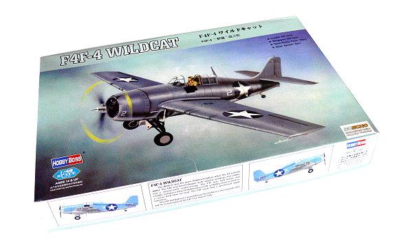 HOBBYBOSS Aircraft Model 1/48 F4F-4 Wildcat Scale Hobby 80328 B0328