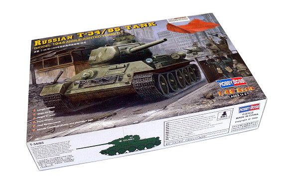HOBBYBOSS Military Model 1/48 Russian T-34/85 Tank Scale Hobby 84809 B4809