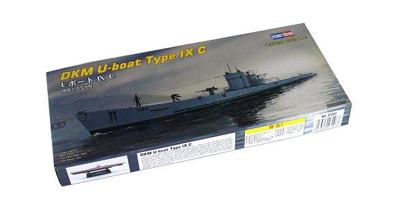 HOBBYBOSS Military Model 1/700 War Ship DKM U-boat Type IX C Hobby 87007 B7007