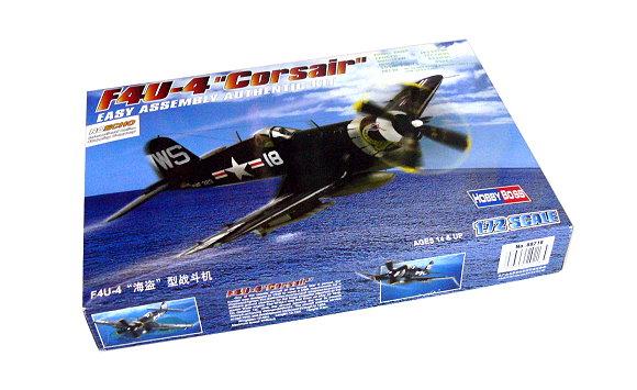 HOBBYBOSS Aircraft Model 1/72 F4U-4 Corsair Scale Hobby 80218 B0218