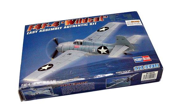 HOBBYBOSS Aircraft Model 1/72 F4F-4 Wildcat Scale Hobby 80220 B0220