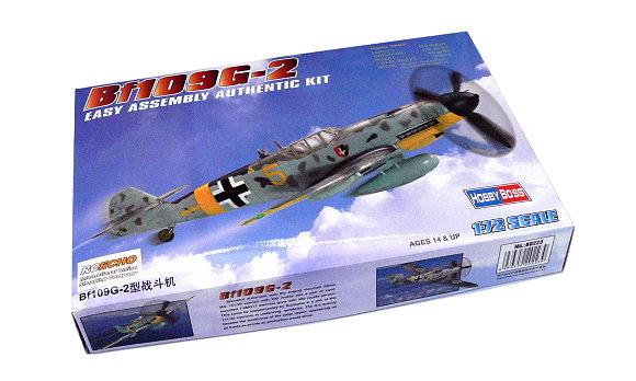 HOBBYBOSS Aircraft Model 1/72 Bf109G-2 Scale Hobby 80223 B0223