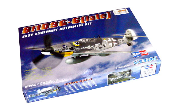 HOBBYBOSS Aircraft Model 1/72 Bf109G-6 Late Scale Hobby 80226 B0226