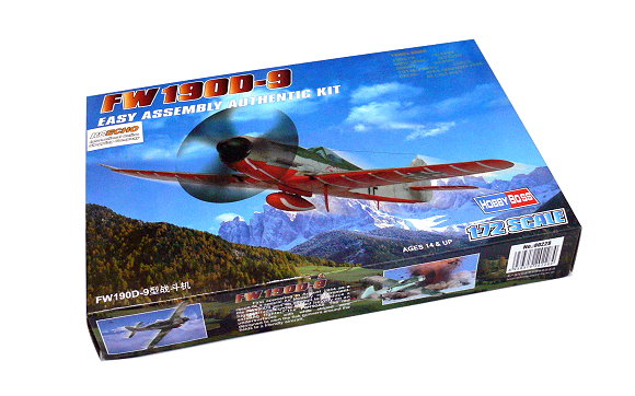 HOBBYBOSS Aircraft Model 1/72 FW190D-9 Scale Hobby 80228 B0228
