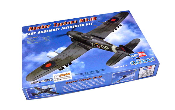 HOBBYBOSS Aircraft Model 1/72 Hawker Typhoon Mk.1B Scale Hobby 80232 B0232