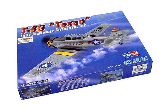 HOBBYBOSS Aircraft Model 1/72 T-6G Texan Scale Hobby 80233 B0233