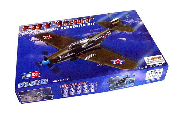 HOBBYBOSS Aircraft Model 1/72 P-39 N Aircobra Scale Hobby 80234 B0234