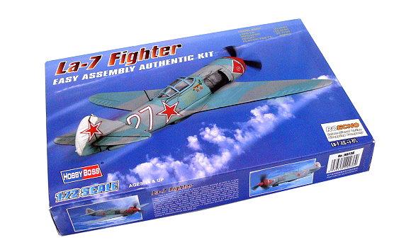 HOBBYBOSS Aircraft Model 1/72 La-7 Fighter Scale Hobby 80236 B0236