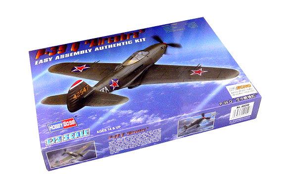 HOBBYBOSS Aircraft Model 1/72 P-39 Q Aircobra Scale Hobby 80240 B0240