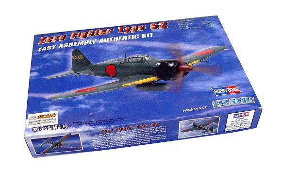 HOBBYBOSS Aircraft Model 1/72 Zero Fighter Type 52 Scale Hobby 80241 B0241