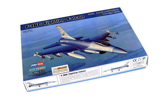 HOBBYBOSS Aircraft Model 1/72 F-16C Fighting Falcon Scale Hobby 80274 B0274