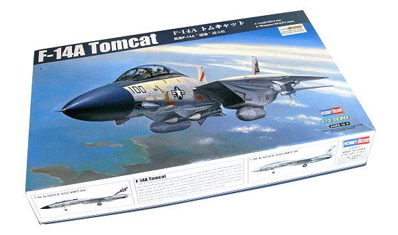 HOBBYBOSS Aircraft Model 1/72 F-14A Tomcat Scale Hobby 80276 B0276