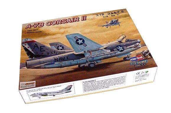 HOBBYBOSS Aircraft Model 1/72 A-7B Corsair II Scale Hobby 87202 B7202