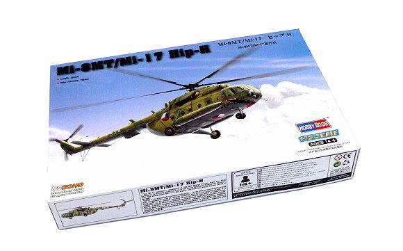 HOBBYBOSS Helicopter Model 1/72 Mi-8MT/Mi-17 Hip-H Scale Hobby 87208 B7208