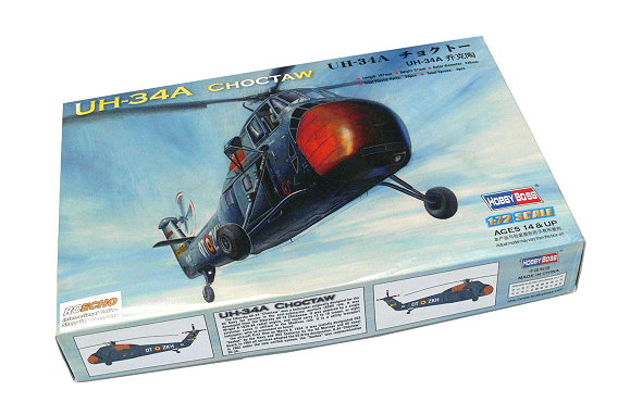 HOBBYBOSS Helicopter Model 1/72 UH-34A CHOCTAW Scale Hobby 87215 B7215