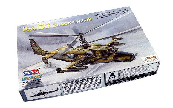HOBBYBOSS Helicopter Model 1/72 KA-50 Black Shark Scale Hobby 87217 B7217