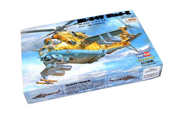 HOBBYBOSS Helicopter Model 1/72 Mi-24V Hind-E Scale Hobby 87220 B7220