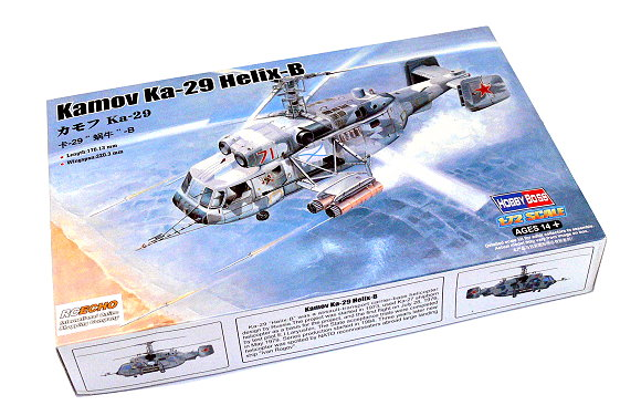 HOBBYBOSS Helicopter Model 1/72 Kamov Ka-29 Helix-B Scale Hobby 87227 B7227