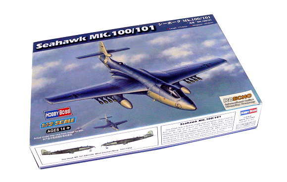 HOBBYBOSS Aircraft Model 1/72 Seahawk Mk.100/101 Scale Hobby 87252 B7252