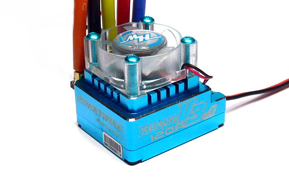HOBBYWING XERUN Blue V3.1 RC Brushless Motor 120A ESC Speed Controller SL214