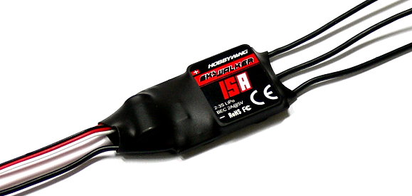 HOBBYWING SKYWALKER Airplane Helicopter 15A Brushless Speed Controller ESC SL016