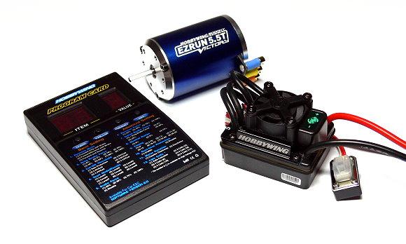 HOBBYWING EZRUN 5.5T 6000KV RC Model Brushless Motor & WP60 60A ESC Combo ME166
