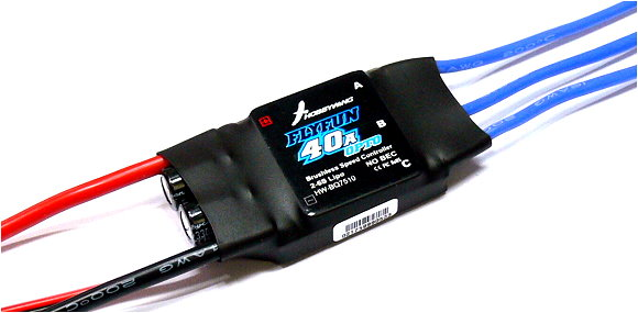 HOBBYWING FLYFUN 40A OPTO RC Model Brushless Motor ESC Speed Controller SL086