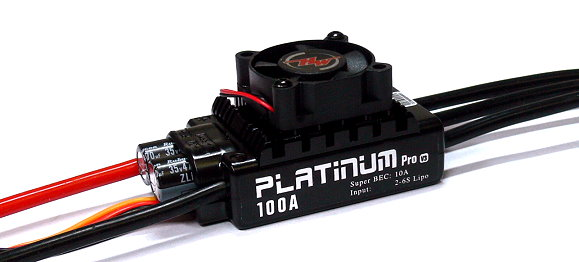 HOBBYWING Platinum 100A V3 RC Model Brushless Motor ESC Speed Controller SL098