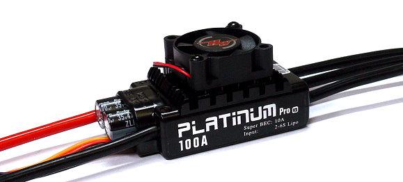 HOBBYWING Platinum 100A V3 RC Model Brushless Motor ESC Speed Controller SL098