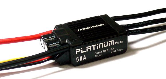 HOBBYWING Platinum 50A V3 RC Model Brushless Motor ESC Speed Controller SL099