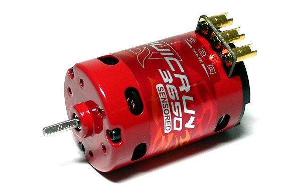 HOBBYWING QUICRUN RC Model 3650SD 1900KV 17.5T Sensored Brushless Motor IM206