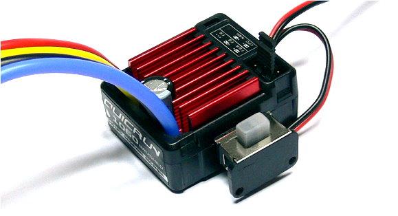 HOBBYWING QUICRUN WP1060 R/C Hobby Brushed Motor ESC Speed Controllers SE025