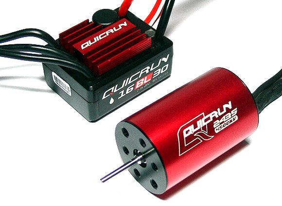 HOBBYWING QUICRUN 2435SL 4500KV Sensorless Brushless Motor & 30A ESC Combo ME140