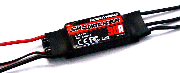HOBBYWING SKYWALKER Airplane Helicopter 30A Brushless Speed Controller ESC SL010