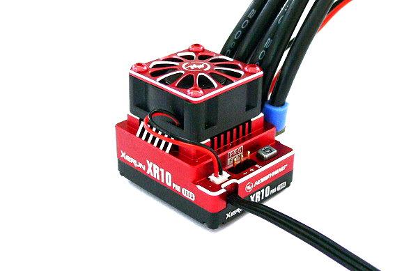 HOBBYWING XERUN Red XR10 PRO 160A Brushless Motor ESC Speed Controller SL262