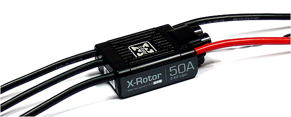 HOBBYWING XRotor 50A LED V1 RC Model Brushless Motor ESC Speed Controller SL080
