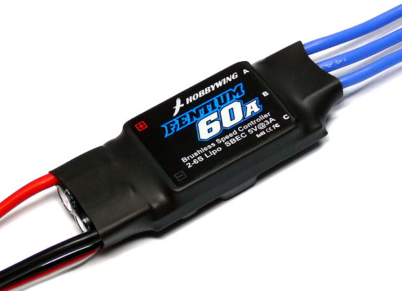 HOBBYWING RC Model Brushless Motor 60A Programable ESC Speed Controller SL146