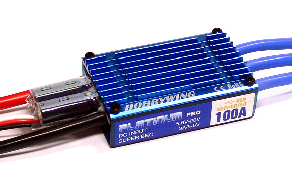 HOBBYWING Platinum 100A RC Model Brushless Motor ESC Speed Controller SL101